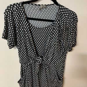Asos Midi Dress, size 8, pocka dot